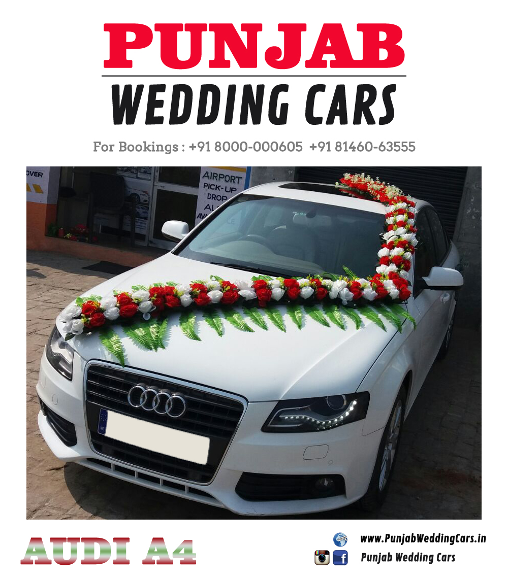 WEDDING CARS DECORATED S FLOWERS AUDI DECORATED S FLOWERS - Audi car decoration