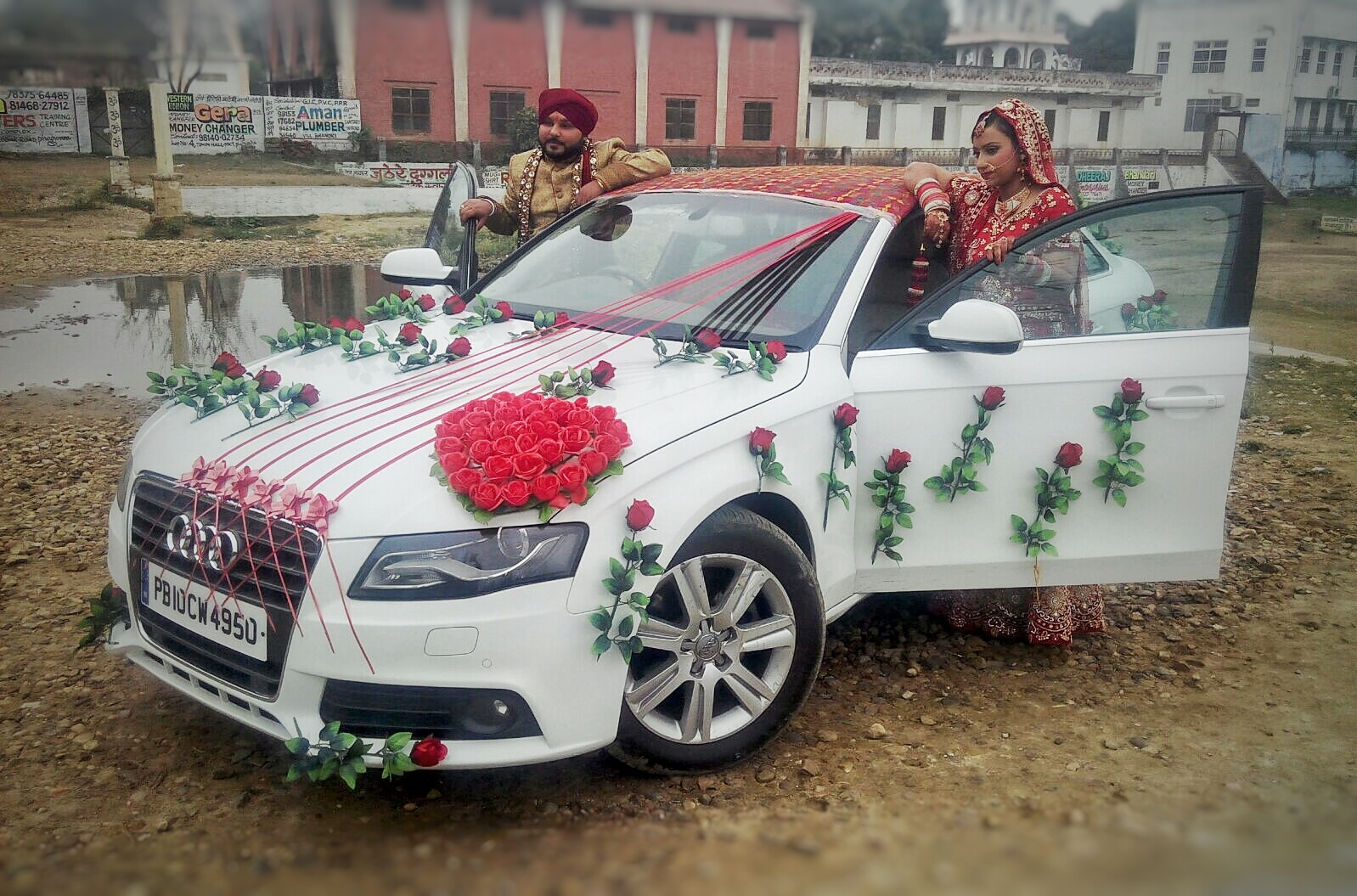 JUST MARRIED PUNEET BASSI weds PRABHJOT KAUR (15th Jan 2016) PUNEET BASSI weds PRABHJOT KAUR (15th Jan 2016) for wedding rental in Punjab, India