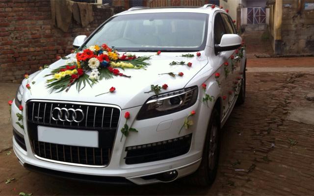 Luxury Wedding Car Rentals Services Punjab Wedding Cars - Audi car in india