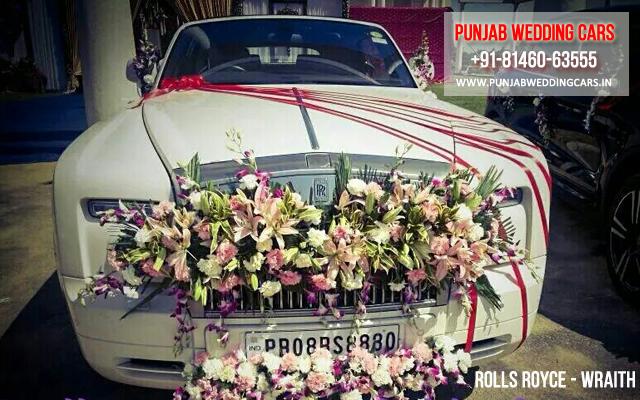 Luxury wedding doli cars and limousine for rent in jalandhar punjab rolls royce wraith available in chandigarh jalandhar ludhiana amritsar barnala junglespirit Gallery
